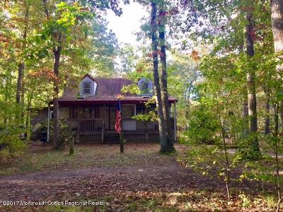 Jackson Single Family Home For Sale: 1336 Toms River Road