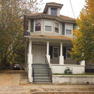 Asbury Park Multi Family Home Under Contract: 1407 Summerfield Avenue