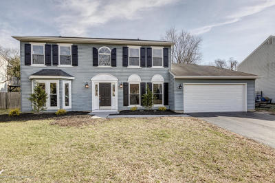 Howell Single Family Home For Sale: 20 Cattail Drive