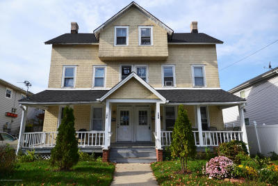 Long Branch Multi Family Home For Sale: 156-158 3rd Avenue