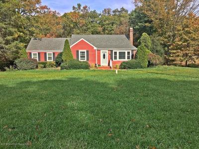Freehold Single Family Home For Sale: 259 State Route 33