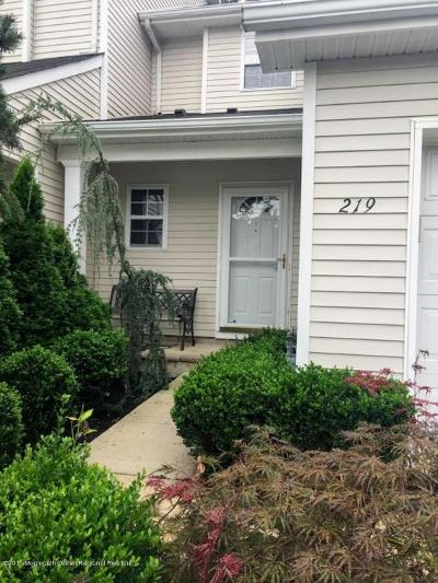 Neptune City, Neptune Township Condo/Townhouse Under Contract: 219 Frankfort Avenue