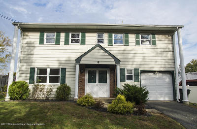 Hazlet Single Family Home Under Contract: 9 Kildare Drive