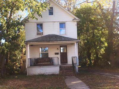 Neptune Township Single Family Home Under Contract: 1504 Monroe Avenue