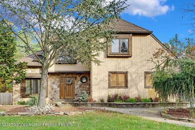 Freehold Single Family Home Under Contract: 45 Tuscan Drive