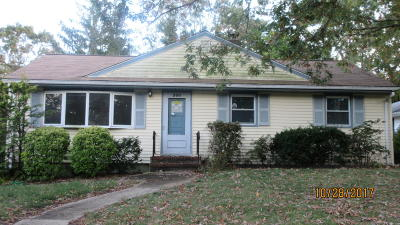 Neptune Township Single Family Home For Sale: 300 Lakewood Road