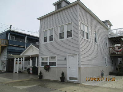 Seaside Park Condo/Townhouse For Sale: 59 Porter Avenue #Upper