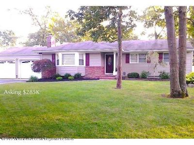 Ocean County Single Family Home For Sale: 399 Bertha Road
