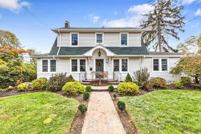 Monmouth County Single Family Home For Sale: 46 Woodbine Avenue