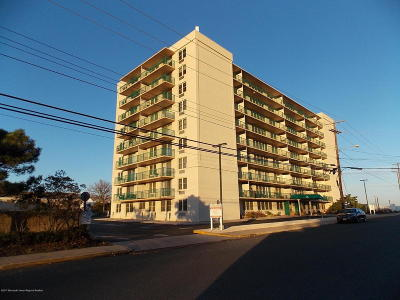Long Branch Condo/Townhouse For Sale: 480 Ocean Avenue #2f