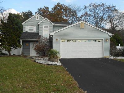 Howell Single Family Home For Sale: 38 Cattail Drive