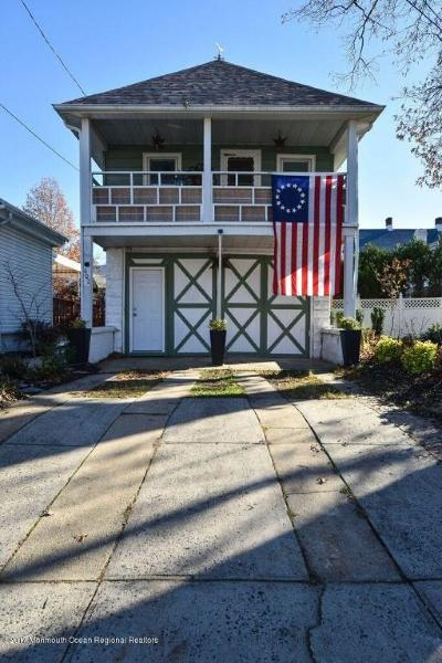 Bradley Beach Single Family Home Under Contract: 602 Fletcher Lake Avenue