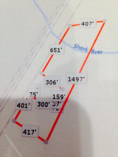 Wall Residential Lots & Land For Sale: 567 Shark River Station Road
