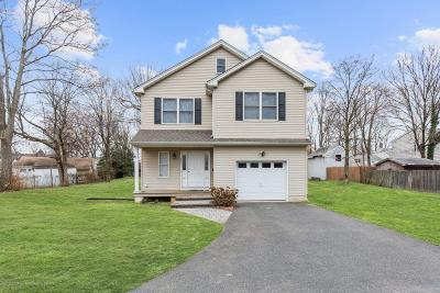 Long Branch, Monmouth Beach, Oceanport Single Family Home For Sale: 293 Hillside Avenue
