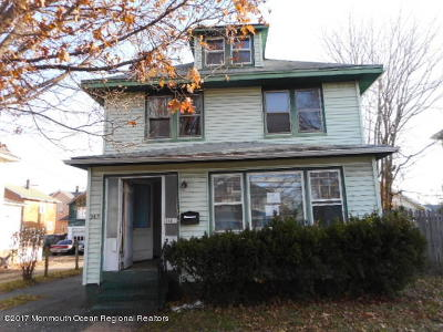 Red Bank Single Family Home For Sale: 365 Shrewsbury Avenue