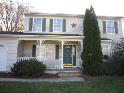 Hazlet Single Family Home Under Contract: 7 Siano Place