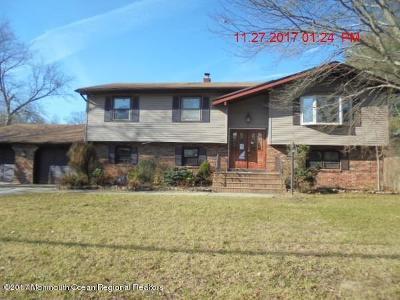Howell Single Family Home For Sale: 71 Sunnyside Road
