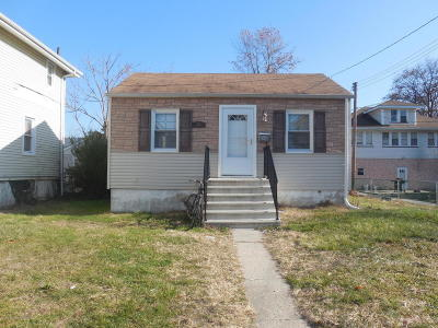 Asbury Park Single Family Home Under Contract: 54 Ridge Avenue