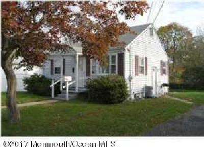 Long Branch, Monmouth Beach, Oceanport Single Family Home For Sale: 205 7th Avenue