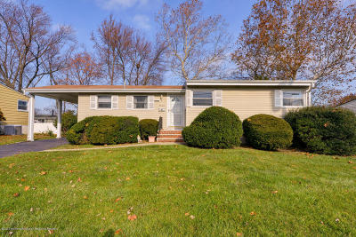 Hazlet Single Family Home Under Contract: 14 Bucknell Drive