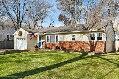Long Branch, Monmouth Beach, Oceanport Single Family Home For Sale: 15 Allenhurst Avenue