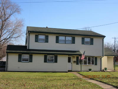 Hazlet Single Family Home For Sale: 187 Middle Road