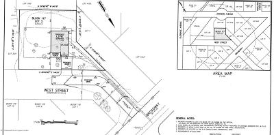 Residential Lots & Land For Sale: West Street
