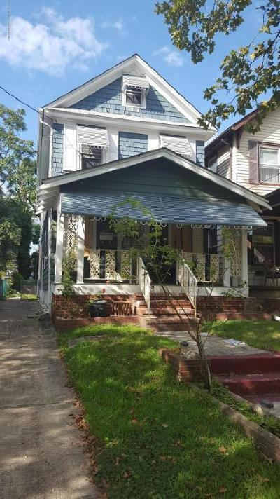Asbury Park Single Family Home For Sale: 1211 1st Avenue