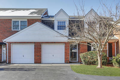 Spring Lake Condo/Townhouse For Sale: 9 Rosewood Drive