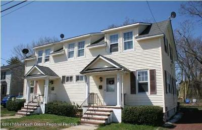 Long Branch Multi Family Home Under Contract: 10-12 William Street