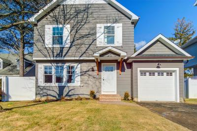 Long Branch, Monmouth Beach, Oceanport Single Family Home For Sale: 37 Wesley Street