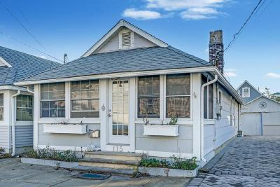 Avon-by-the-sea, Belmar, Bradley Beach, Brielle, Manasquan, Spring Lake, Spring Lake Heights Single Family Home For Sale: 115 1st Avenue