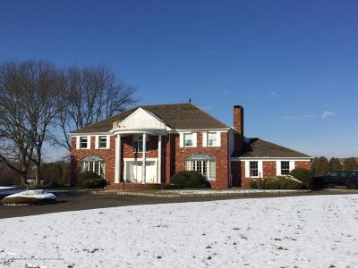 Colts Neck Single Family Home For Sale: 176 Stone Hill Road