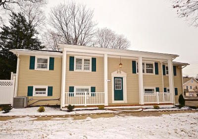 Avon-by-the-sea, Belmar, Bradley Beach, Brielle, Manasquan, Spring Lake, Spring Lake Heights Single Family Home For Sale: 1617 Holly Boulevard