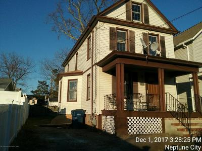 Neptune Township Single Family Home For Sale: 1225 8th Avenue