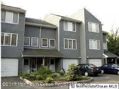 Long Branch Condo/Townhouse For Sale: 190 Spruce Street #3