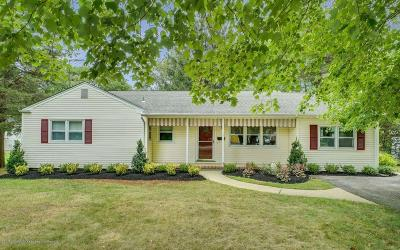 Avon-by-the-sea, Belmar, Bradley Beach, Brielle, Manasquan, Spring Lake, Spring Lake Heights Single Family Home For Sale: 1 Jeanette Court