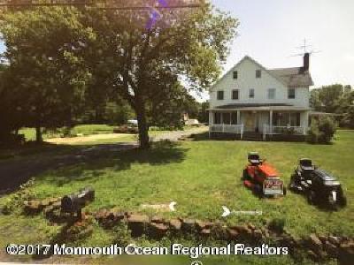 Monroe Farm For Sale: 1405 Perrineville Road
