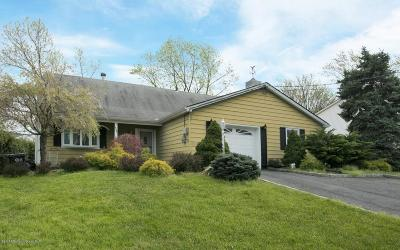 Hazlet Single Family Home For Sale: 534 Line Road