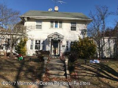 Avon-by-the-sea, Belmar, Bradley Beach, Brielle, Manasquan, Spring Lake, Spring Lake Heights Single Family Home For Sale: 406 2nd Avenue