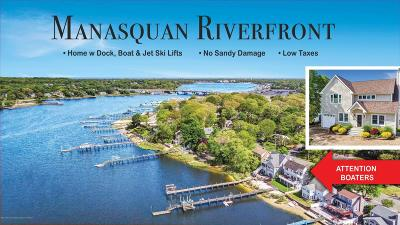 Brick Single Family Home For Sale: 175 Riverside Drive