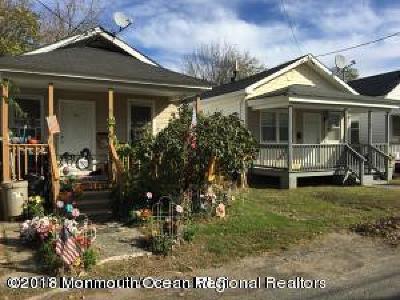 Long Branch Multi Family Home For Sale: 95-97 Laurel Street