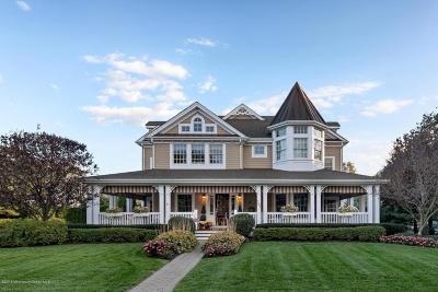 Avon-by-the-sea, Belmar, Bradley Beach, Brielle, Manasquan, Spring Lake, Spring Lake Heights Single Family Home For Sale: 201 Vroom Avenue