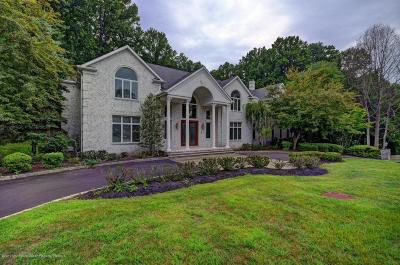 Holmdel Single Family Home For Sale: 17 Round Hill