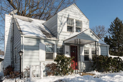 Freehold Single Family Home For Sale: 14 Asbury Avenue