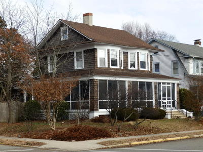 Point Pleasant Beach Single Family Home Under Contract: 713 Atlantic Avenue