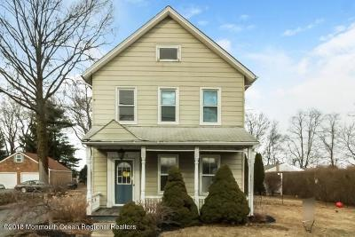 Freehold Single Family Home For Sale: 932 Adelphia Road