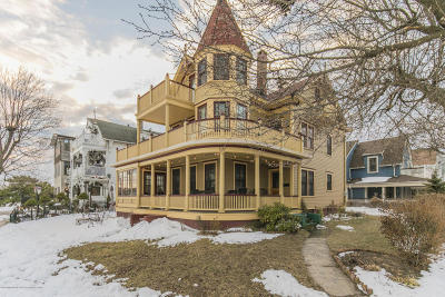 Ocean Grove Single Family Home Under Contract: 107 Central Avenue