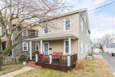 Avon-by-the-sea, Belmar, Bradley Beach, Brielle, Manasquan, Spring Lake, Spring Lake Heights Single Family Home For Sale: 612 Sylvania Avenue