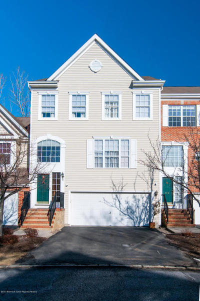 Monmouth County Condo/Townhouse For Sale: 206 Hidden Lake Drive